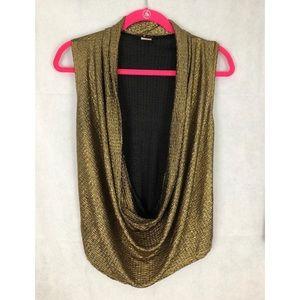 Heart 2 Heart Tank/Vest-Like Gold Shirt